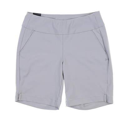 New Womens Under Armour Golf Shorts Medium M Gray UW6679 MSRP $68