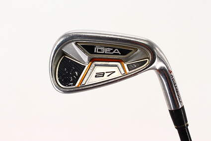 Adams Idea A7 Single Iron 7 Iron Adams UST Mamiya Proforce Graphite Stiff Right Handed 37.25in