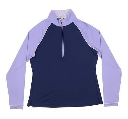 New Womens Fairway & Greene Neve 1/4 Zip Pullover Small S Multi H12226 MSRP $113