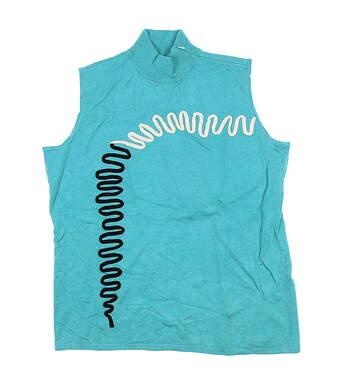 New Womens Jamie Sadock Sleeveless Sweater Large L Multi 72702 MSRP $100