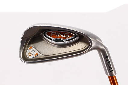Ping G10 Single Iron 7 Iron Ping TFC 129I Graphite Senior Right Handed Black Dot 37.0in