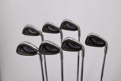 Ping i5 Iron Set 4-PW GW Ping CS Lite Steel Regular Right Handed 38.25in