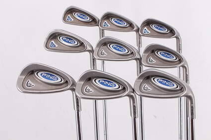 Ping i5/G5 Iron Set 3-PW GW Ping CS Lite Steel Stiff Right Handed Silver Dot 38.75in