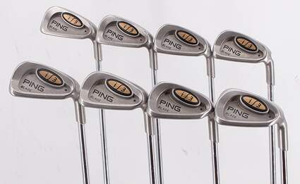 Ping i3 Blade Iron Set 3-PW Ping JZ Steel Stiff Right Handed Black Dot 37.75in