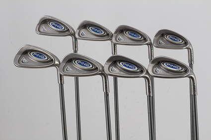 Ping i5 Iron Set 4-PW GW Ping TFC 100I Graphite Regular Right Handed Green Dot 38.0in