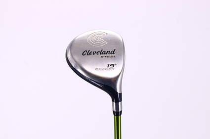 Cleveland Launcher Steel Offset Fairway Wood 5 Wood 5W 19° Aldila NV 65 Graphite Stiff Right Handed 42.75in