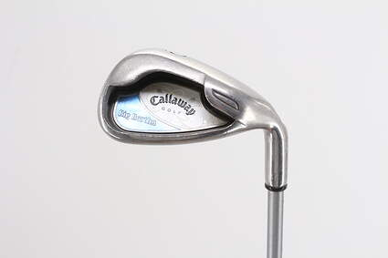 Callaway 2006 Big Bertha Single Iron Pitching Wedge PW Callaway Stock Graphite Graphite Ladies Right Handed 35.25in