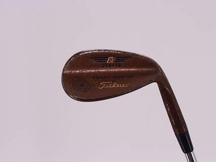 Titleist Vokey Oil Can Wedge Sand SW 56° 14 Deg Bounce True Temper Dynalite Gold Steel Wedge Flex Right Handed 35.25in