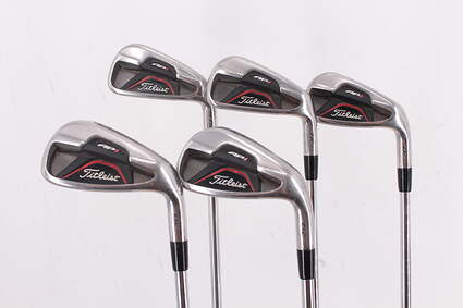 Titleist 712 AP1 Iron Set 6-PW True Temper Dynamic Gold R300 Steel Regular Right Handed 37.5in