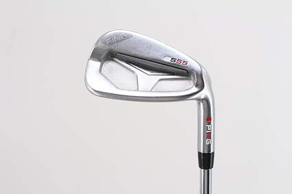 Ping S55 Single Iron 8 Iron True Temper Dynamic Gold X100 Steel X-Stiff Right Handed Yellow Dot 36.5in