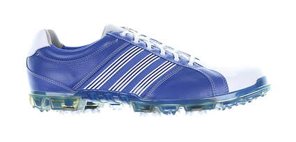New Mens Golf Shoe Adidas Adicross Tour Medium 13 Blue/White Q47090 MSRP $120