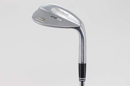 Cleveland CG15 Satin Chrome Wedge Gap GW 52° 10 Deg Bounce Cleveland Action Ultralite W Steel Wedge Flex Right Handed 35.75in