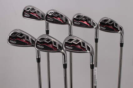 Cobra Bio Cell Red Iron Set 5-PW GW UST Mamiya Recoil 808 Graphite Stiff Right Handed 38.25in