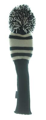 Stitch Knitted Driver Headcover Dark Blue/White