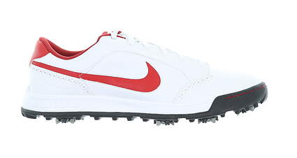 New Mens Golf Shoe Nike Air Anthem Medium 13 White/Red 379212 16 MSRP $110