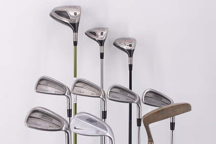 Mens Complete Golf Club Set Right Handed Regular Flex Titileist Driver Woods Irons Nike Wedge Putter Retail Price $ 1500