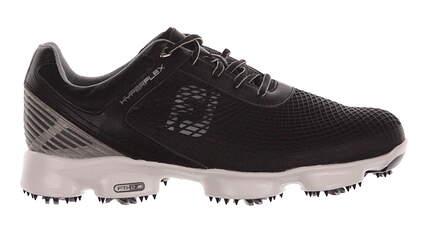 New Mens Golf Shoe Footjoy Hyperflex 8 Wide Black/Gray/Silver 51046 MSRP $200