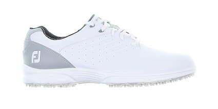 New Mens Golf Shoe Footjoy FJ Arc SL Medium 11.5 White/Silver 59700 MSRP $100