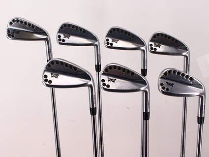PXG 0311T Chrome Iron Set 4-PW FST KBS Tour-V Steel Stiff Right Handed 38.0in
