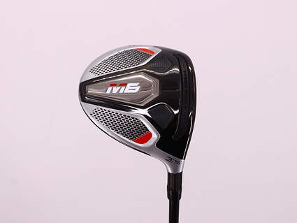Mint TaylorMade M6 Fairway Wood 3 Wood 3W 15° Fujikura ATMOS 5 Orange FW Graphite Regular Right Handed 43.25in
