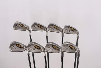 Ping i3 Oversize Iron Set 5-PW GW SW Ping Aldila 350 Series Graphite Ladies Right Handed Red dot 36.75in