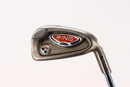 Ping i10 Single Iron 4 Iron True Temper Dynamic Gold S300 Steel Stiff Right Handed Black Dot 38.25in