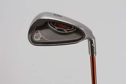 Ping G10 Single Iron 8 Iron Ping TFC 129I Graphite Regular Right Handed Silver Dot 37.25in