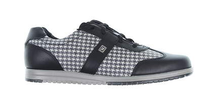 New Womens Golf Shoe Footjoy Casual Collection Medium 7.5 Black 97720 MSRP $120