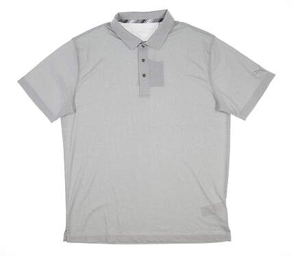 New Mens Puma Grill to Green Polo Large L Quarry 577397 08 MSRP $60