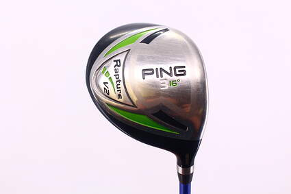 Ping Rapture V2 Fairway Wood 3 Wood 3W 15° Mitsubishi Rayon Javln FX M7 Graphite X-Stiff Right Handed 42.75in