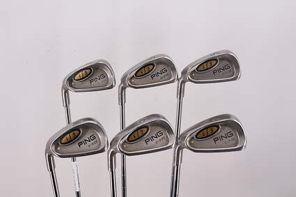 Ping i3 Oversize Iron Set 5-PW Ping Z-Z65 with Cushin Insert Steel Stiff Left Handed White Dot 38.5in
