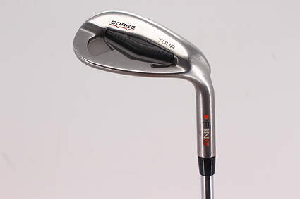 Ping Tour Gorge Wedge Lob LW 60° Standard Sole Ping CFS Steel Stiff Right Handed Red dot 35.25in