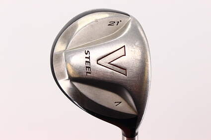 TaylorMade V Steel Fairway Wood 7 Wood 7W 21° TM M.A.S.2 Graphite Regular Right Handed 41.75in
