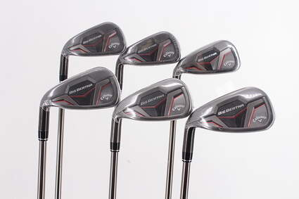 Mint Callaway 2019 Big Bertha Iron Set 5-PW UST Mamiya Recoil ZT9 F3 Graphite Regular Left Handed 38.5in