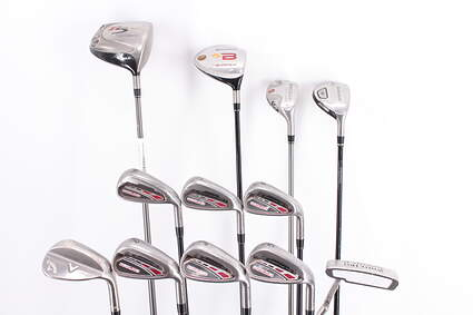Mens Complete Golf Club Set Right Handed Regular Flex TaylorMade Driver Irons Wedge Odyssey Putter MSRP $ 1599
