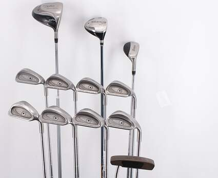 Mens Complete Golf Club Set Right Handed Regular Flex TaylorMade Driver Ping Irons Wedge Putter MSRP $ 2299