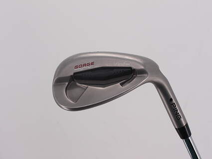 Ping Tour Gorge Wedge Sand SW 56° Ping CFS Steel Stiff Right Handed Black Dot 35.5in