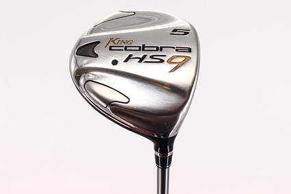 Cobra HS9 Fairway Wood 5 Wood 5W Stock Graphite Shaft Graphite Stiff Right Handed 43.25in