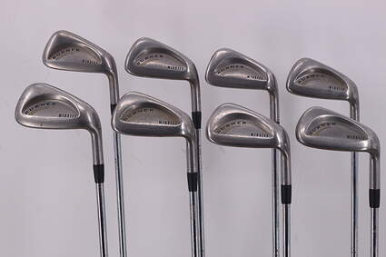 TaylorMade Burner Midsize Iron Set 3-PW True Temper Dynamic Gold Steel Stiff Right Handed 37.75in