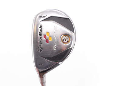 TaylorMade 2009 Rescue Hybrid 4 Hybrid 22° TM Aldila reax 65 hybrid Graphite Regular Left Handed 39.75in