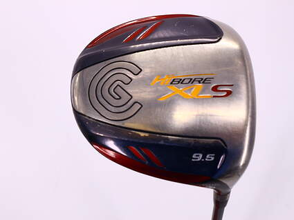 Cleveland Hibore XLS Driver 9.5° Cleveland Fujikura Fit-On Red Graphite Stiff Right Handed 45.5in
