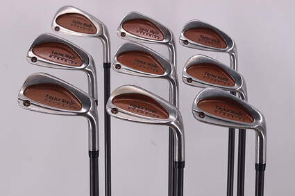TaylorMade Burner Oversize Iron Set 3-PW GW TM Bubble Graphite Regular Right Handed 38.25in