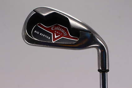 Callaway 2006 Big Bertha Single Iron 5 Iron Callaway Stock Steel Steel Regular Right Handed 37.75in