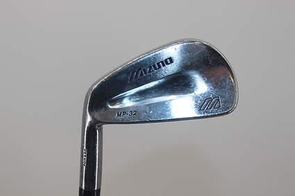 Mizuno MP 32 Single Iron 5 Iron True Temper Dynamic Gold S300 Steel Stiff Left Handed 38.0in