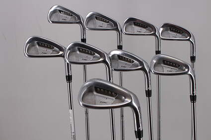 TaylorMade Rac LT Iron Set 3-PW SW True Temper Dynamic Gold S300 Steel Stiff Right Handed 38.25in