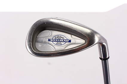 Callaway X-14 Single Iron Pitching Wedge PW Callaway Stock Graphite Graphite Regular Right Handed 35.75in