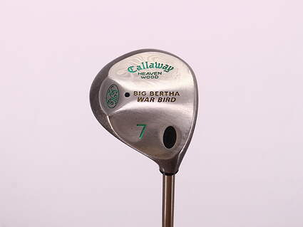 Callaway Big Bertha Warbird Fairway Wood 7 Wood 7W 21° Callaway Gems Graphite Ladies Right Handed 40.75in