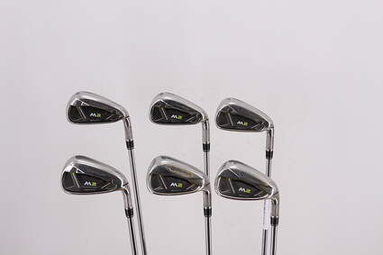 TaylorMade M2 Iron Set 5-PW TM FST REAX 88 HL Steel Regular Right Handed 38.5in