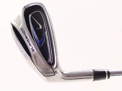 Nike 2010 Slingshot Single Iron 7 Iron True Temper Slingshot Steel Uniflex Left Handed 37.0in