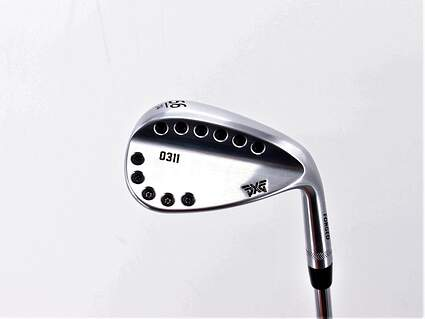 Mint PXG 0311 Chrome Wedge Sand SW 56° 14 Deg Bounce FST KBS Tour 120 Steel Stiff Right Handed 35.5in